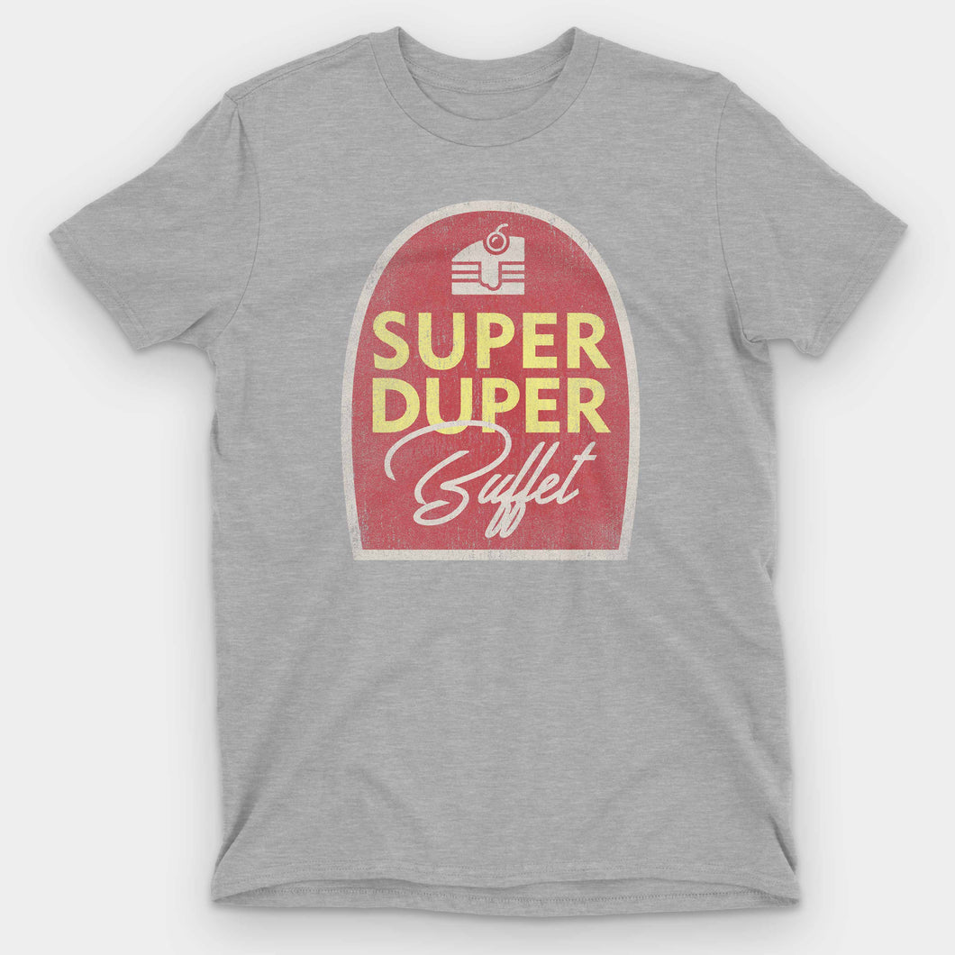 Super Duper Buffet Graphic T-Shirt - Snaxtime