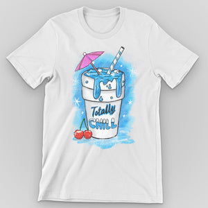 Totally Chill Graphic T-Shirt - Snaxtime Retro Style Food Apparel