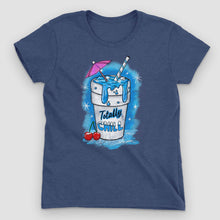 Load image into Gallery viewer, Totally Chill Women's Graphic T-Shirt - Snaxtime Retro Style Food Apparel