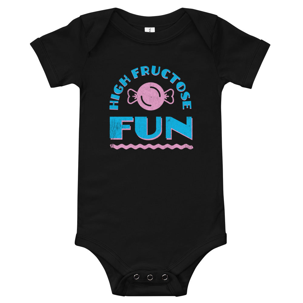 High Fructose Fun Baby One-Piece Bodysuit