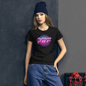Bubblegum Pop Women's Graphic T-Shirt - Snaxtime Retro Style Food Apparel