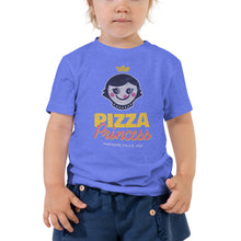 Load image into Gallery viewer, Pizza Princess Graphic Toddler T-Shirt - Snaxtime Retro Style Food Apparel