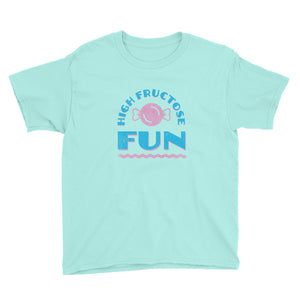 High Fructose Fun Youth Short Sleeve T-Shirt - Snaxtime Retro Style Food Apparel