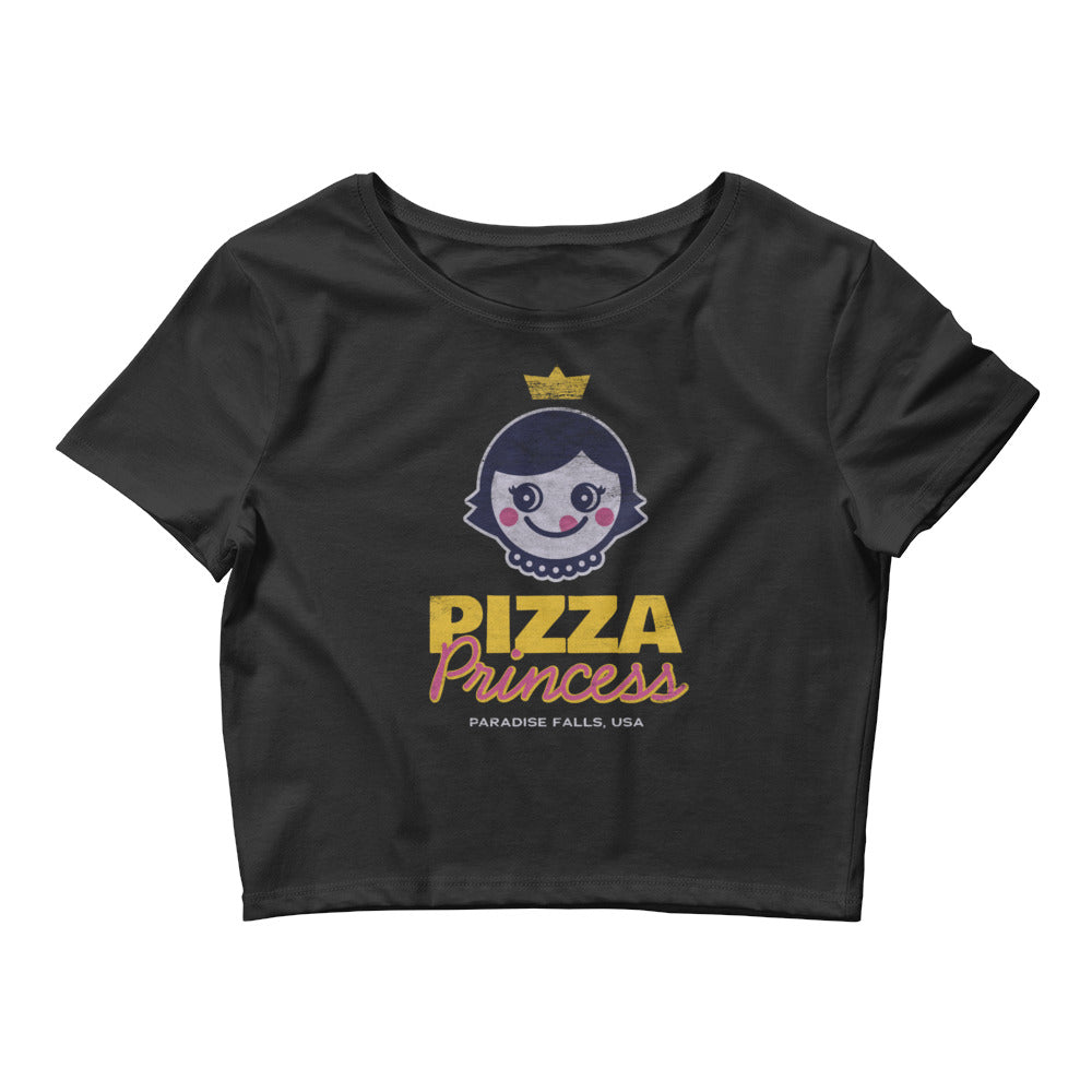 Pizza Princess Women's Crop Top Tee