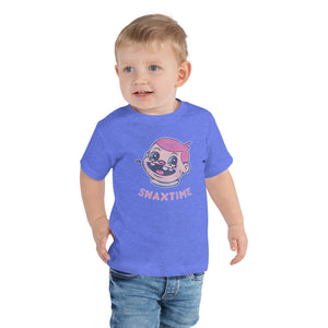 Snaxtime Original Graphic Toddler Tee - Snaxtime Retro Style Food Apparel