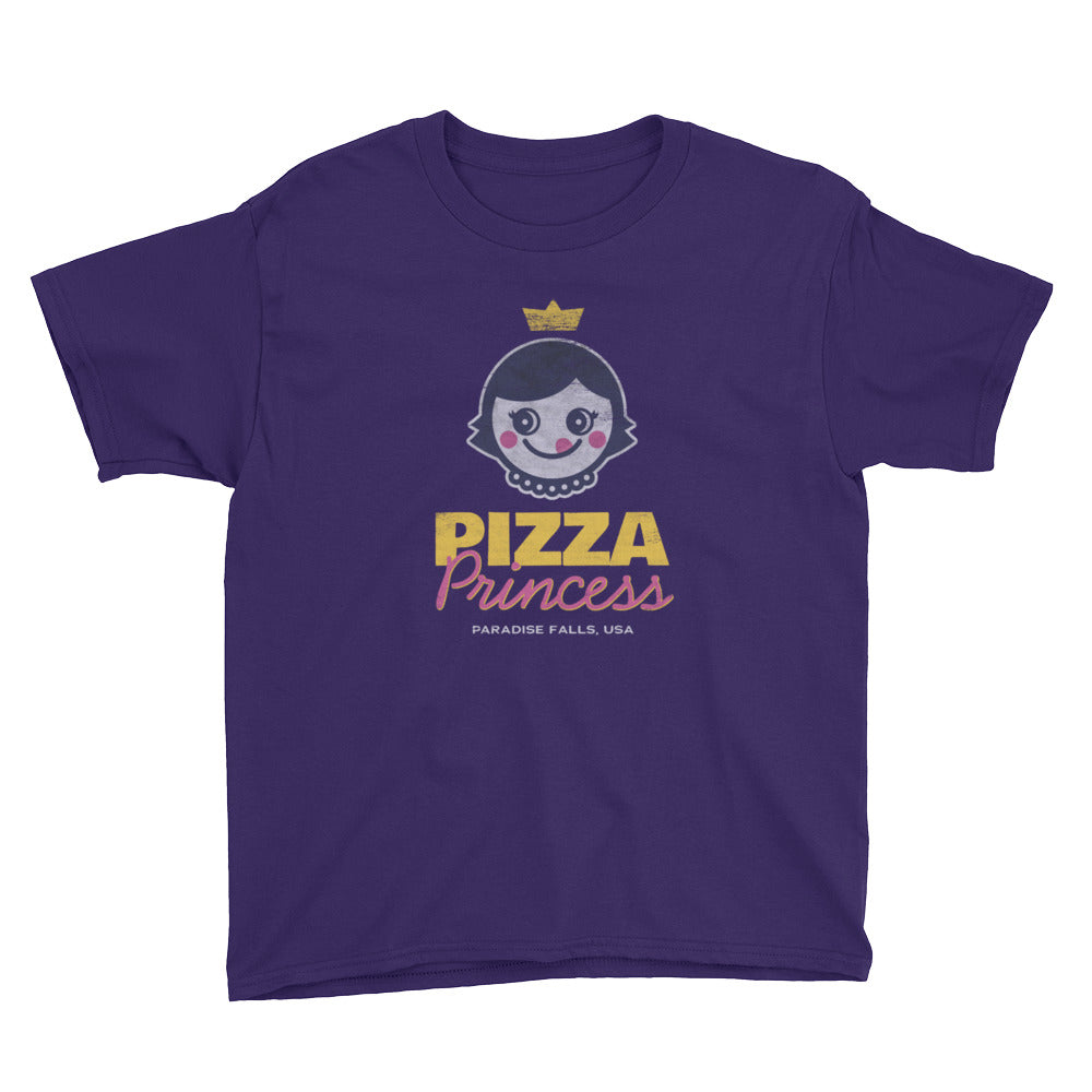 Pizza Princess Youth Short Sleeve T-Shirt