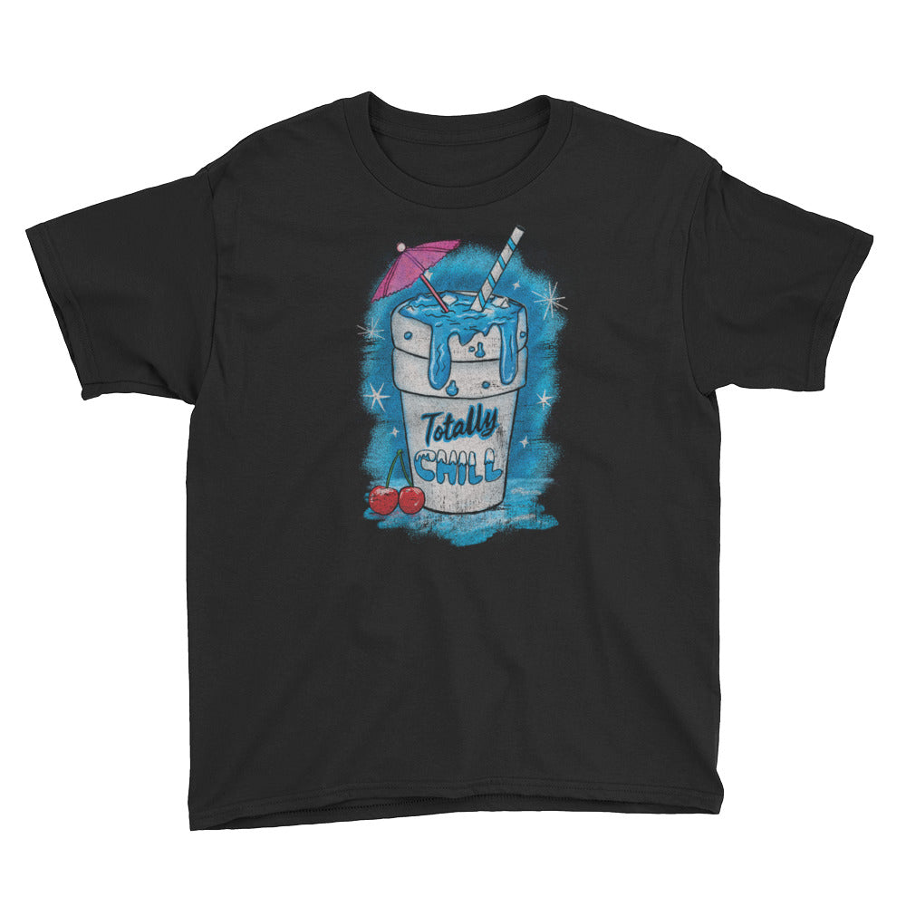 Totally Chill Youth Short Sleeve T-Shirt - Snaxtime Retro Style Food Apparel