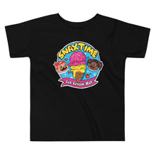 Load image into Gallery viewer, Snaxtime Ice Cream Hut Graphic Toddler T-Shirt - Snaxtime Retro Style Food Apparel