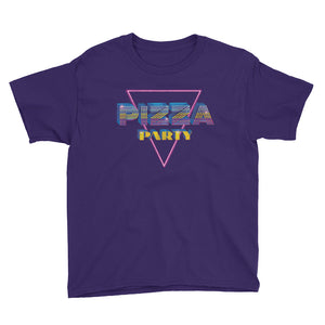 Pizza Party Youth Short Sleeve T-Shirt