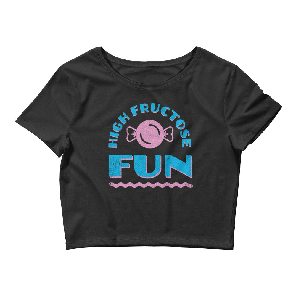 High Fructose Fun Women's Crop Top Tee