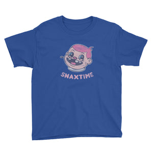Snaxtime Original Youth Short Sleeve T-Shirt - Snaxtime Retro Style Food Apparel
