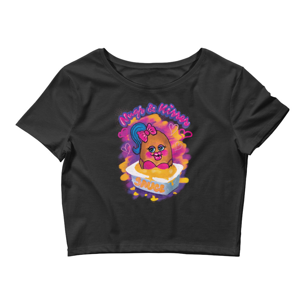 Nugs and Kisses Women's Crop Top Tee
