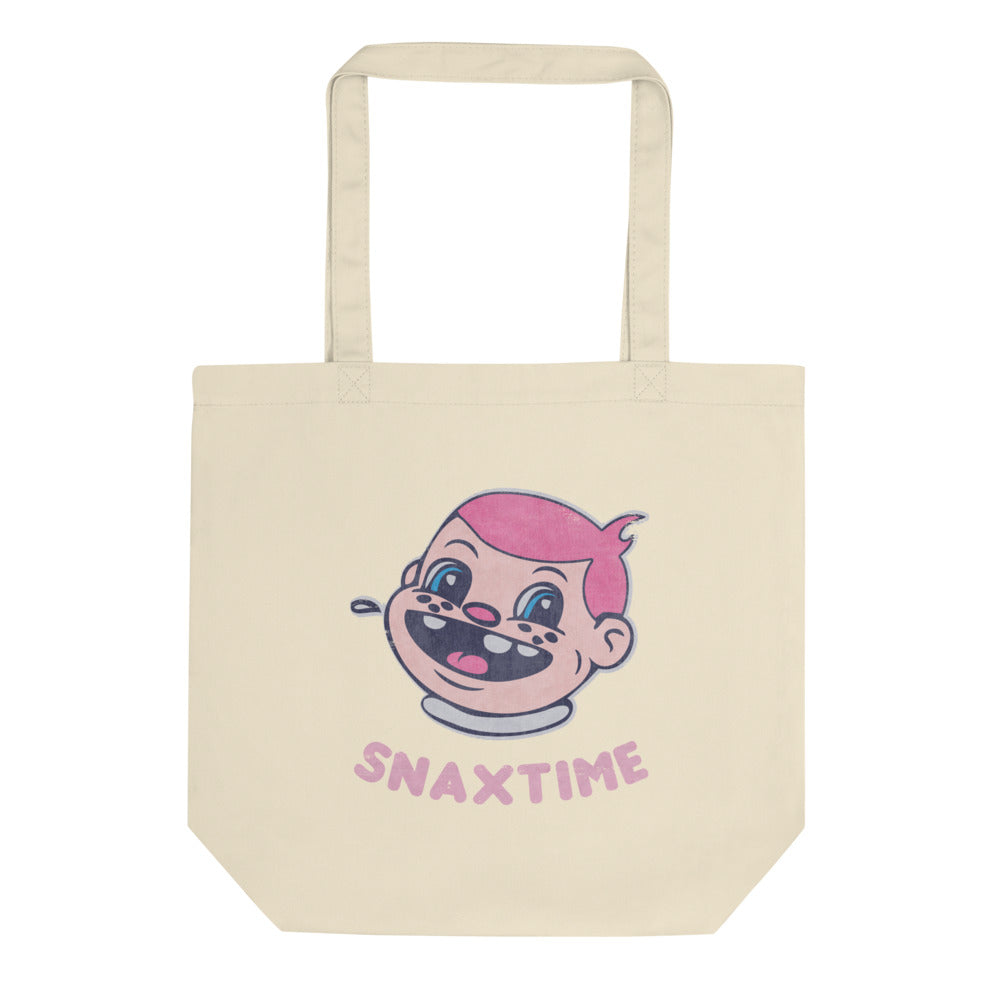 Snaxtime Eco Tote Bag - Snaxtime Retro Style Food Apparel