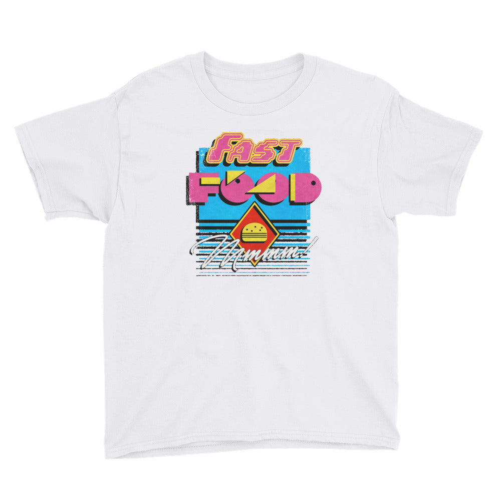90s Fast Food Youth Short Sleeve T-Shirt