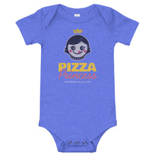 Load image into Gallery viewer, Pizza Princess Baby One Piece Bodysuit - Snaxtime Retro Style Food Apparel