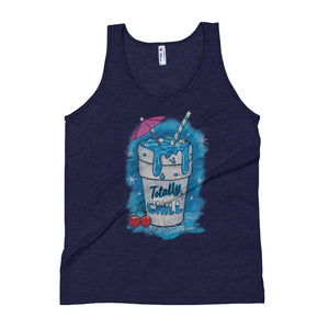 Totally Chill Unisex Premium Tri Blend Tank Top - Snaxtime
