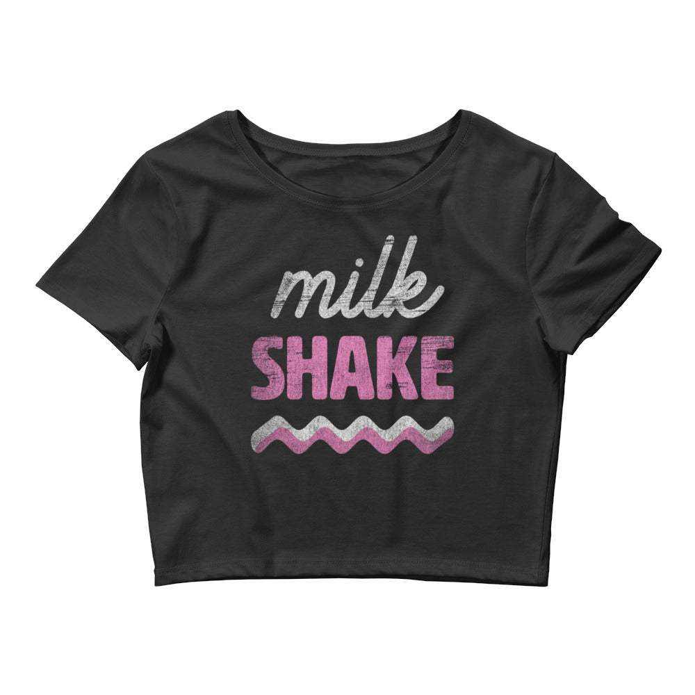 Milkshake Women's Crop Top Tee