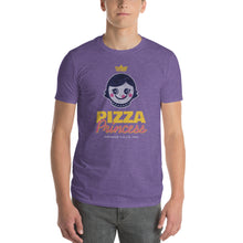 Load image into Gallery viewer, Pizza Princess Graphic T-Shirt - Snaxtime Retro Style Food Apparel