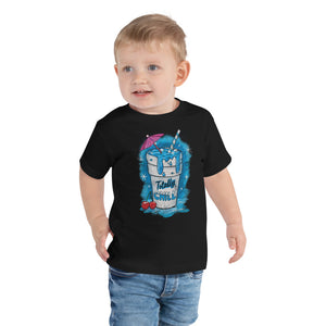 Totally Chill Graphic Toddler T-Shirt - Snaxtime Retro Style Food Apparel