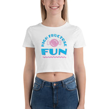 Load image into Gallery viewer, High Fructose Fun Women's Crop Top Tee - Snaxtime