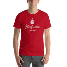 Load image into Gallery viewer, Nashville Hot Chicken Graphic T-Shirt - Snaxtime Retro Style Food Apparel
