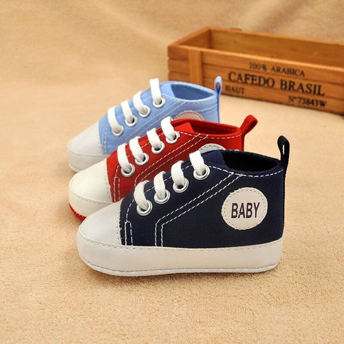 Hipster Baby: Canvas Sneakers