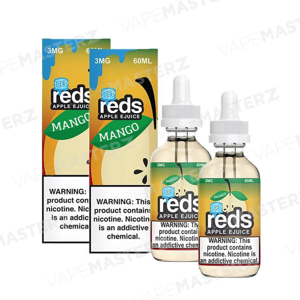 7Daze REDS Apple ICED - Mango - 60mL - Vape Masterz