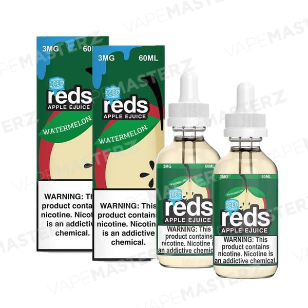 7Daze REDS Apple ICED - Watermelon - 60mL - Vape Masterz