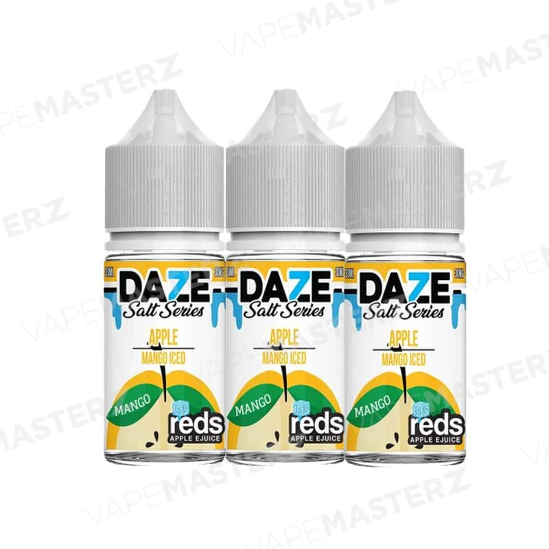 7Daze REDS Apple ICED Salt - Mango - 30mL - Vape Masterz