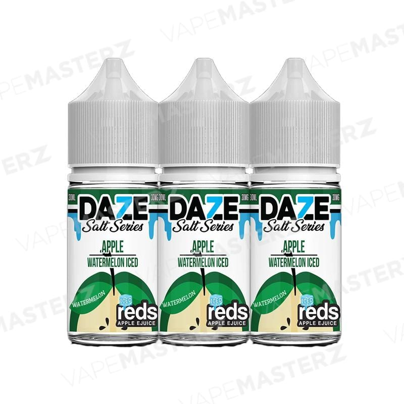 7Daze REDS Apple ICED Salt - Watermelon - 30mL - Vape Masterz