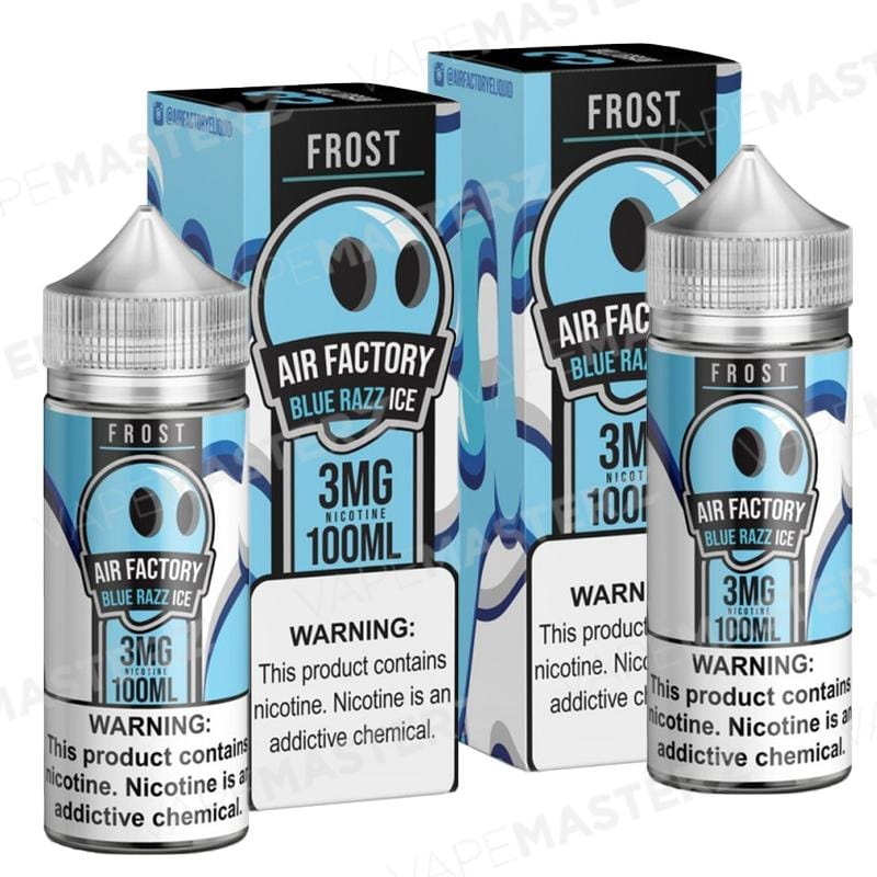 AIR FACTORY - Frost - Blue Razz Ice - 100mL - Vape Masterz