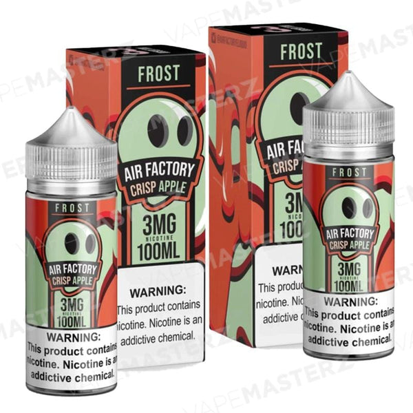 AIR FACTORY - Frost - Crisp Apple - 100mL - Vape Masterz