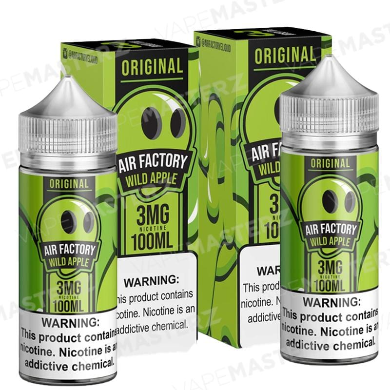 AIR FACTORY - Original - Wild Apple - 100mL - Vape Masterz