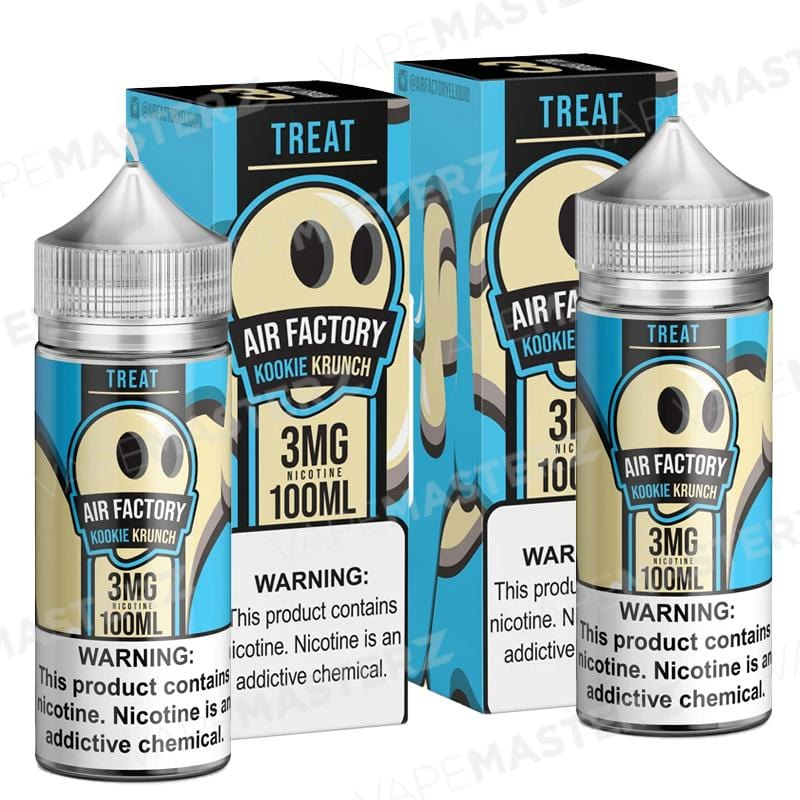 AIR FACTORY - Treat - Kookie Krunch - 100mL - Vape Masterz