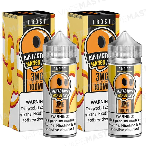 AIR FACTORY Frost Mango Ice 100mL - Vape Masterz