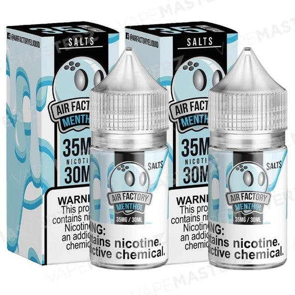AIR FACTORY SALTS Menthol 30mL - Vape Masterz