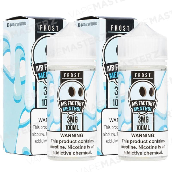 AIR FACTORY FROST Menthol 100mL - Vape Masterz