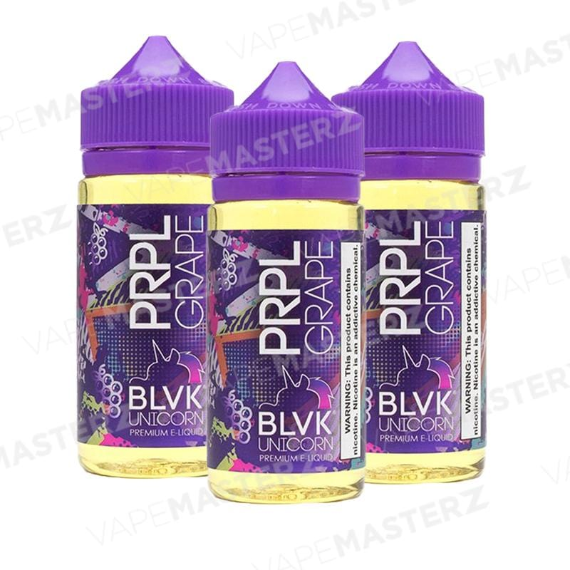 BLVK E-LIQUID - CHBY PRPL Grape - 100mL - Vape Masterz