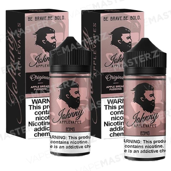 JOHNNY APPLEVAPES Apple Bread Pudding 100mL - Vape Masterz
