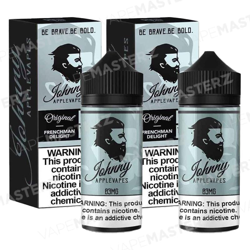 JOHNNY APPLEVAPES Frenchman Delight 100mL - Vape Masterz