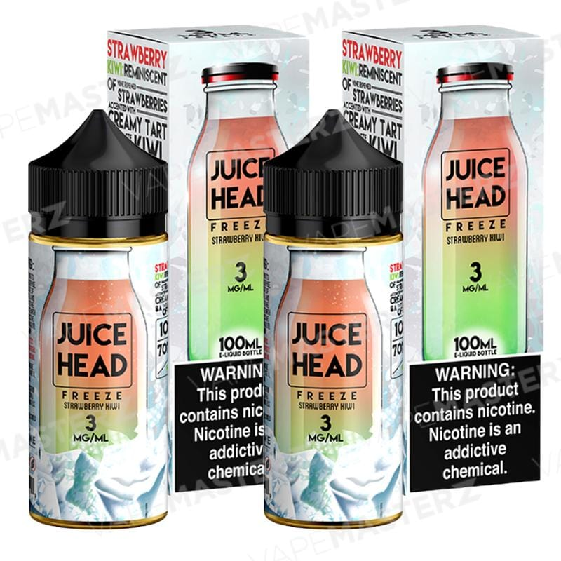 JUICE HEAD Freeze - Strawberry Kiwi - Vape Masterz