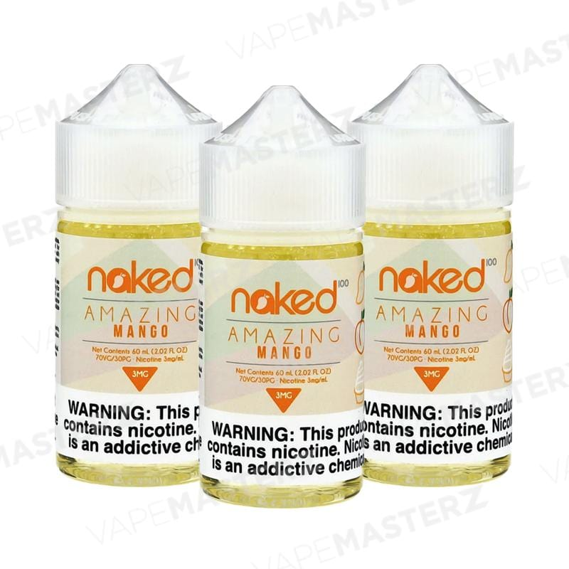 NAKED 100 Mango - 60mL - Vape Masterz