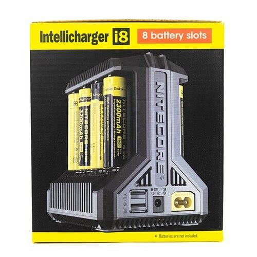 NITECORE i8 Intelligent Battery Charger - Vape Masterz