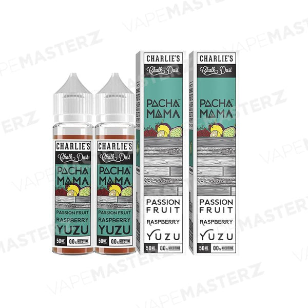 PACHAMAMA Passion Fruit Raspberry Yuzu 60mL - Vape Masterz
