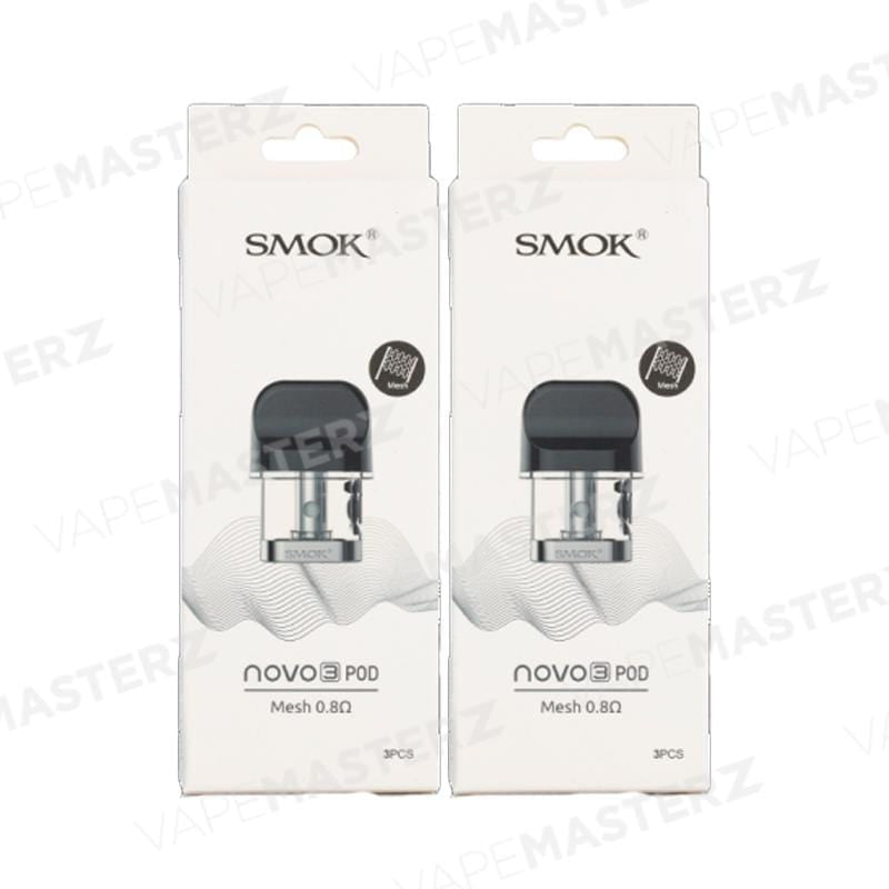 SMOK Novo 3 Replacement Pod - Vape Masterz