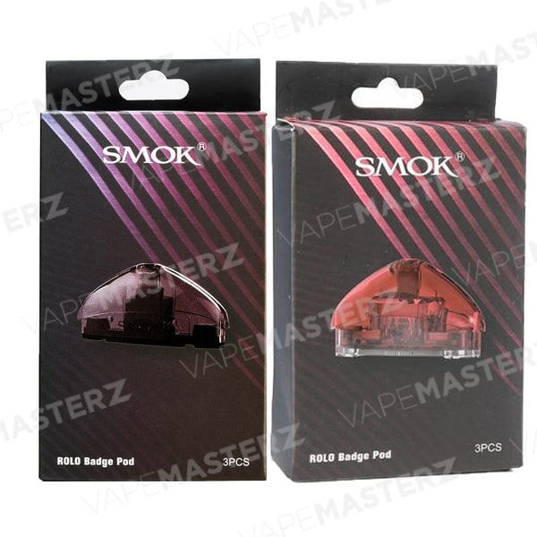 SMOK Rolo Badge Replacement Pod Cartridges - Vape Masterz