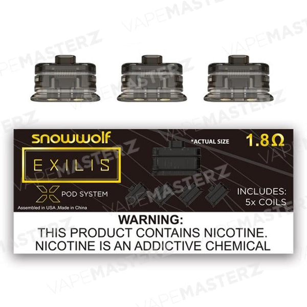 SNOWWOLF Exilis XPod Replacement Coils - Vape Masterz