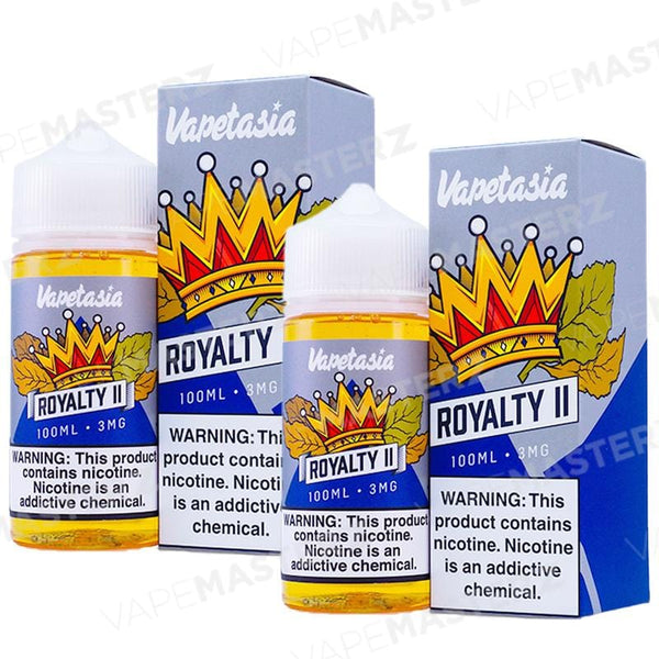VAPETASIA Royalty II - 100mL - Vape Masterz