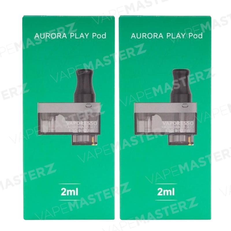 VAPORESSO Aurora Play Replacement Pods - Vape Masterz