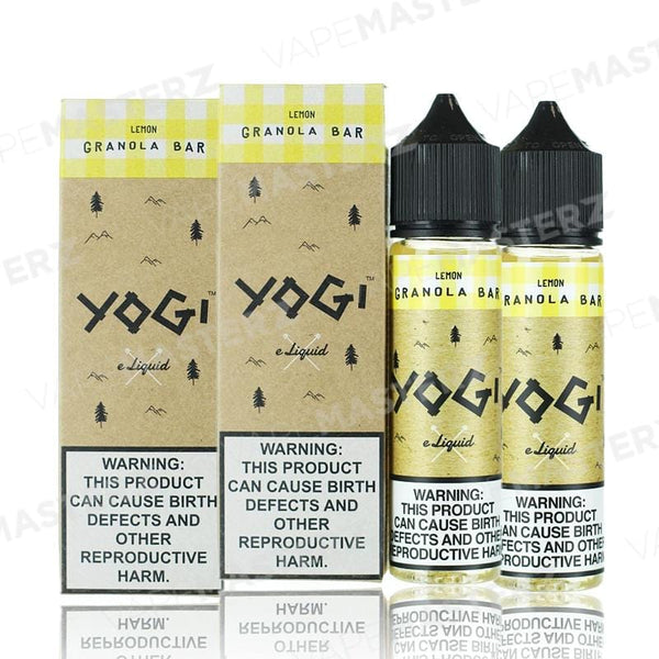 YOGI - Lemon Granola Bar - 60mL - Vape Masterz